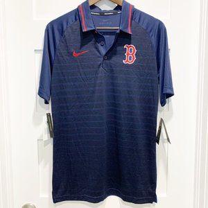 Nike Baseball Dri-Fit Boston Red Sox Polo Shirt